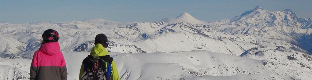 Casa tours, ski chile