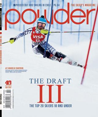 powder-2012 cover